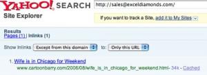 Yahoo! podría ingresar los enlaces de los emails como backlinks