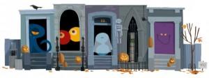 Logo interactivo para Halloween