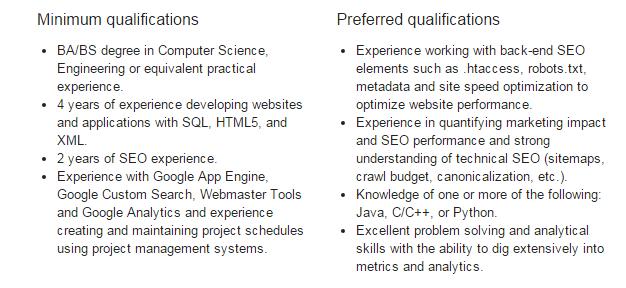 Program Manager  Search Engine Optimization