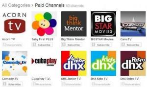 YouTube lanza canales de pago desde $0.99 al mes