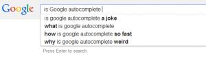 ¿Es Google Autocomplete malo?
