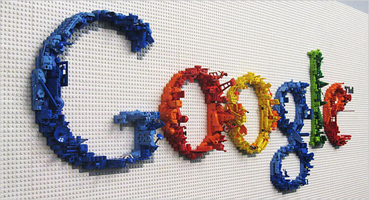 google logo lego