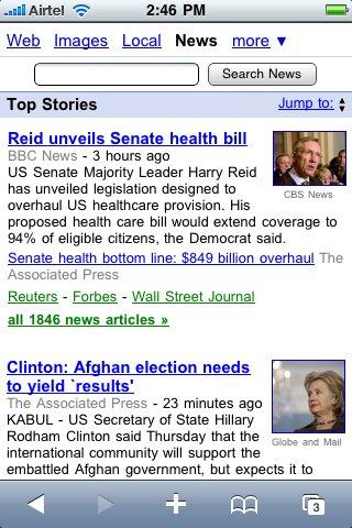 google news moviles