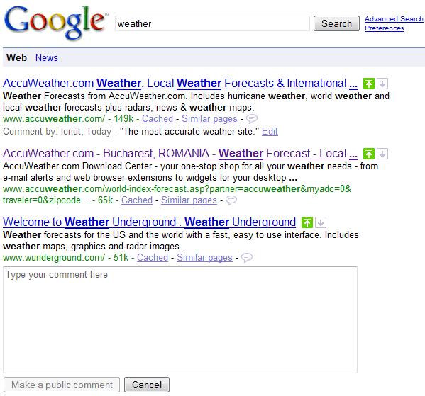 google noviembre