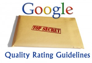 Filtrada la versión 5 de la Quality Rating Guide de Google