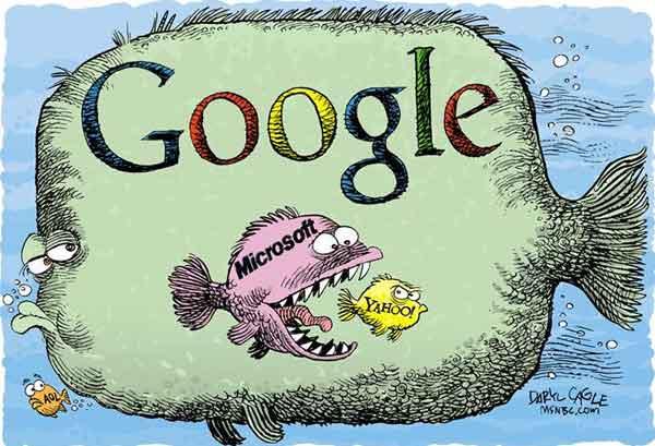 Google  Microsoft  Yahoo buscadores