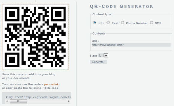 qr code internet movil