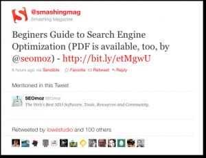 El poder de Twitter en Google – caso de estudio