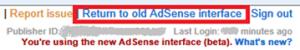 Desaparece definitivamente la vieja interfaz de AdSense