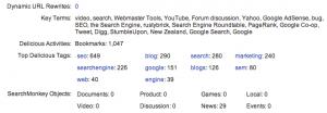Yahoo Site Explorer añade links desde Delicious y otros factores